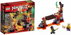 LEGO 70753 Ninjago Lava Falls Set New/Sealed  94pcs + 2 Figs!! Cool Gift!!  #LEGO! Sold in My Ebay Store!! NEW