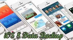 We cannot wait to update our iPhone or iPad to iOS 8 but after updating we found that some important data such as contacts, text messages, images, videos, notes were lost. It is very important to backup data before upgrading