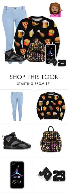 """""""black"""" by fatalbertsquad ❤ liked on Polyvore featuring Mode, Influence, Junk Food Clothing, Retrò, Betsey Johnson, women's clothing, women, female, woman und misses"""