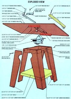 Homemade Tools: How to Make a Table Saw
