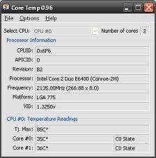 Core Temp free