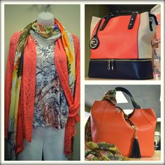 Persimmon Anyone?  Help keep your Fashion Palette lively with one of Spring and Summers Trendiest New Sunset Colors!