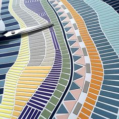 Papercut Mosaic - Detail | by all things paper