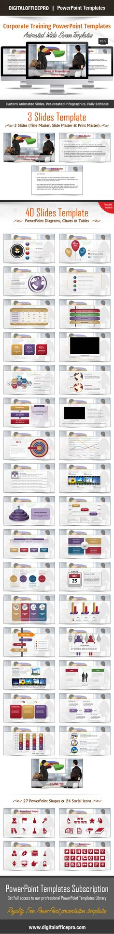 Impress and Engage your audience with Corporate Training PowerPoint Template and Corporate Training PowerPoint Backgrounds from DigitalOfficePro. Each template comes with a set of PowerPoint Diagrams, Charts & Shapes and are available for instant download.