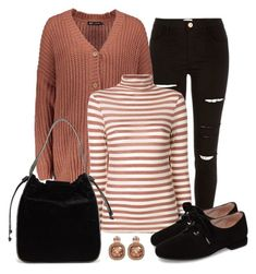 """Casual Fall Attire"" by gallant81 ❤ liked on Polyvore featuring River Island, SEMICOUTURE, Taryn Rose and French Connection"