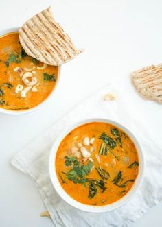 Thaise+rode+currysoep+met+zoete+aardappel+noodels