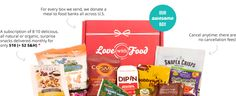 Love With Food Box Another monthly snack box