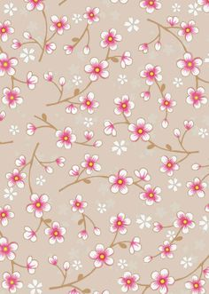 Our blue Cherry Blossom wallpaper will turn that wall into a very special one. It has a drawn pattern of a refined blossom in full bloom. Roll length: 10 m Pattern height: 53 cm Roll width: 53 cm Please check our Service pages for a roll calculator. Free Desktop Wallpaper, Love Wallpaper, Mobile Wallpaper, Pattern Wallpaper, Cute Wallpapers, Scrapbook Background, Paper Background, Scrapbook Paper, Cherry Blossom Wallpaper