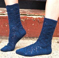 Clandestine sock - Knitty Fall 2009