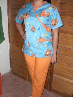 Cute Nursing Scrubs, Cute Scrubs, Maid Uniform, Filipina, Nurse Life, Scrub Tops, Work Attire, Work Wear, Kids Outfits