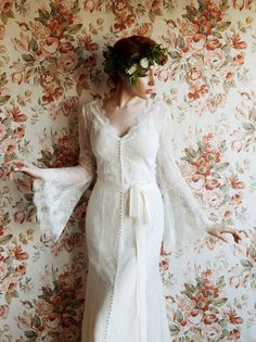 Love and Lace bridal dress