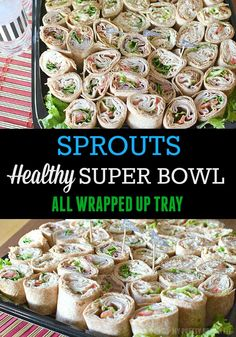 Score Big for the Super Bowl with fresh and healthy catering trays from Sprouts Farmers Market! Perfect for any classy football affair or tailgate with family and friends! - @myprettybrown