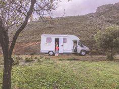 Kleineglobetrotter.nl | Camperreis Spanje – wat kost het? Malaga, Recreational Vehicles, Camper, Campers, Single Wide