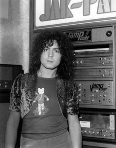 Marc Bolan invented Glam Rock, Glam Metal, and mostly invented Heavy Metal.