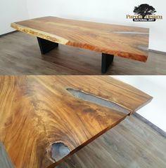 Mesa de Parota con resina, solo en Parota Design