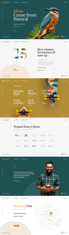 Lewis - A Distinctive PSD Template for Portfolio Showcase Web Design Examples, Creative Web Design, Best Web Design, Page Design, Layout Design, Ui Design, Graphic Design, Interface Design, Brand Design