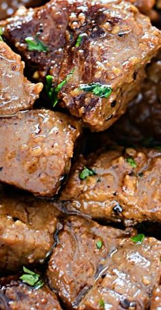 Juicy Garlic Butter Steak Bites beef tips Juicy Garlic Butter Steak Bites Salisbury Steak Recipes, Grilled Steak Recipes, Meat Recipes, Cooking Recipes, Dinner Recipes, Sirloin Steak Recipes, Beef Steaks, Grilled Meat, Paleo Dinner
