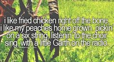 Favorite country lyrics