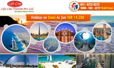 Holiday In Dubai at Just 14500 Per Person Include : Meals + Accommodation + Sightseeing