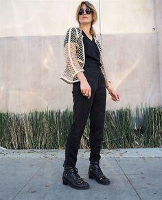 Garderobsutmaning: Hur får jag mina svarta byxor att kännas roliga?