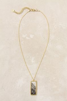 Oblong Reflections Necklace #anthropologie