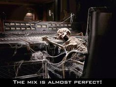 The sound engineer