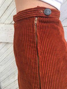 Vintage Rost Cord Slips Pants