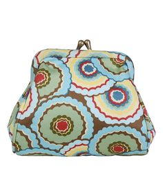 This Dancing Umbrellas Mallory Organic Coin Purse by Amy Butler is perfect! #zulilyfinds