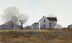 Midwest-Farmland by Dean Mitchell