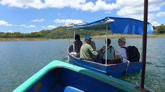 eine #Bootsfahrt, die ist lustig #Kuba #Escambray Gebirge bei #Trinidad