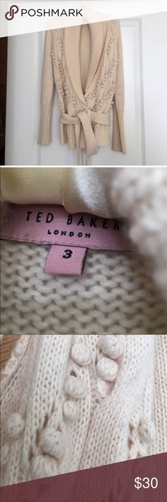 Ted Baker cardigan Ted Baker wrap cardigan. Great condition. No snags. Ted Baker Sweaters Cardigans