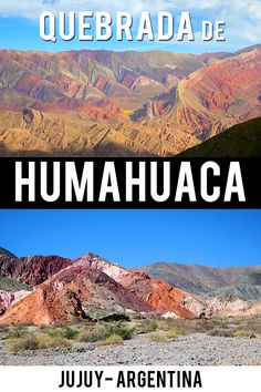 3 days in Tilcara Argentina - Travel Guide for Quebrada de Humahuaca #argentina #humahuaca #rainbowmountain Serranía de Hornocal #jujuy