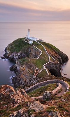 South Stack Lighthouse - Anglesey, Wales (by Steve-P2010 on Flickr)