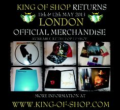MAKING History Exhibition - LONDON - 11th & 12th May 2013    ARE YOU READY?    Tickets available at www.king-of-shop.com