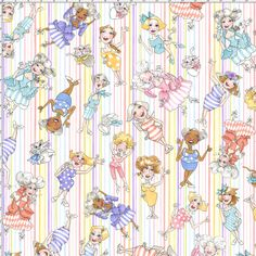Airheads Stripe Fabric Yard