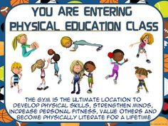 WE TEACH PHYSICAL EDUCATION!!!We are PHYSICAL EDUCATION teachers and we are PROUD to teach Physical Education! Most of us have the luxury to teach in a large playing area we refer to as the GYM but we certainly do not teach GYM despite what we sometimes hear from our classroom colleagues, administrators, parents, students and from the general public!