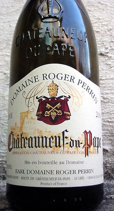 Chateau Neuf du Pape my favorite