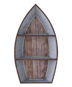 Metal Boat Wall Shelf | zulily