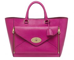 Mulberry Willow 2.0 pink handbag tote