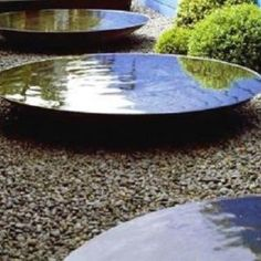 Turn your garden into an oasis with our water bowl garden features. Made from thick Corten Steel they look great and are highly corrosion resistant. Modern Water Feature, Small Water Features, Backyard Water Feature, Water Features In The Garden, Garden Features, Japanese Water Feature, Indoor Water Fountains, Garden Fountains, Small Patio Ideas On A Budget