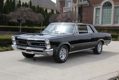 1965 Pontiac GTO Based on the tempest.