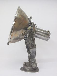 Original Steel Ships Searchlight Old Lights, Vintage Nautical, Industrial Lighting, Steel, The Originals, Fox, Ships, Search, Boats