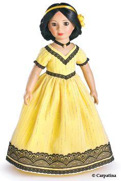 Carpatina dolls Victorian dress