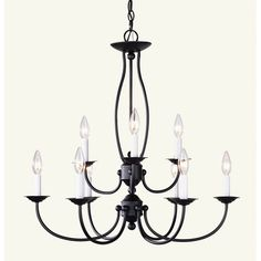 Found it at Wayfair - Williams 9-Light Candle-Style Chandelier