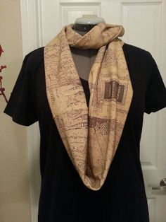 These Marauder's Map-Printed Scarves are Muggle-Chic trendhunter.com LOVEEEEEE IT