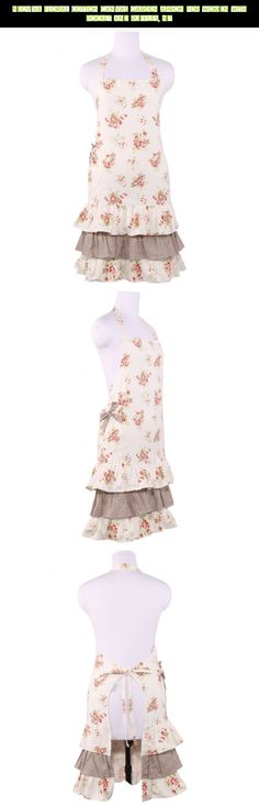 Neoviva Floral Cotton Canvas Garden Apron for Women with Pocket and Ruffles, Nit #racing #fpv #gadgets #for #drone #shopping #camera #kit #products #apron #parts #tech #pockets #women #gardening #technology #with #plans