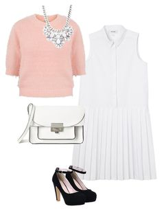 Scream queens: fashion by camillefelldownawell on Polyvore featuring Monki, Yumi, Marc by Marc Jacobs and Forever 21
