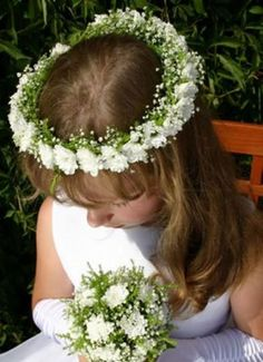 First Communion Flower Wreath | Wianek Komunijny ze stokrotek