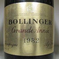 Bollinger - Grand Annee 1982