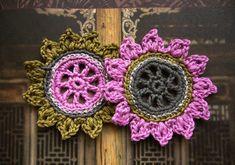 ••• Häkelsonnen  ••• von crochet.jewels auf DaWanda.com